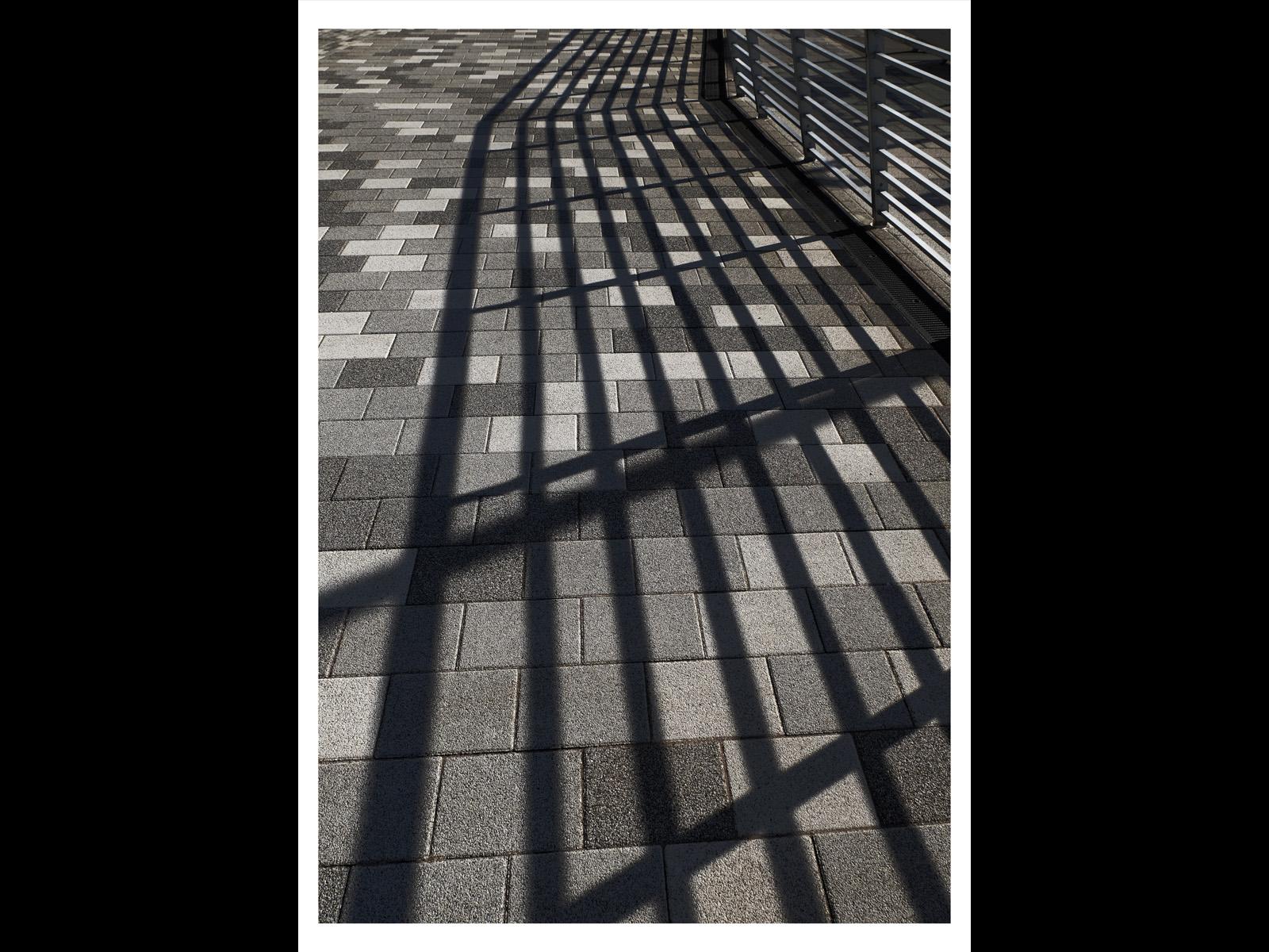 Pavement shadows