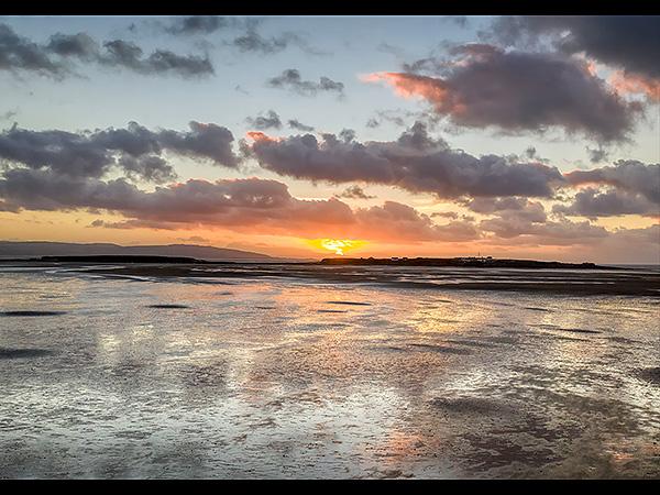 Sunset, Hilbre Island